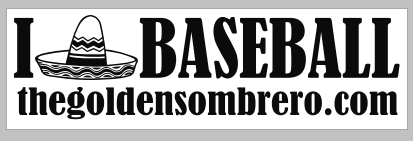Golden Sombrero Bumper Sticker